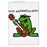 frog and roll card