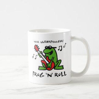 frog and roll coffee mug