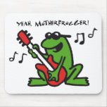 frog and roll mousepad