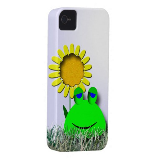 how to backup an iphone frog and sunflower iphone 4 cover zazzle 17069