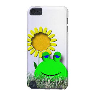 Frog and Sunflower iPod Touch 5G Case