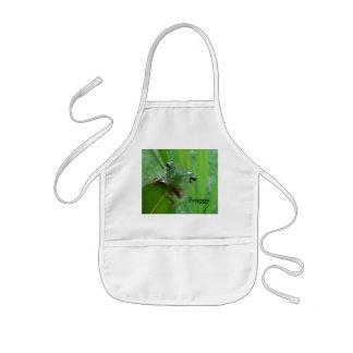 Frog! Apron for Kids