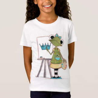 Frog Artist - Childrens T-shirt