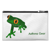 Frog Asthma Emergency Kit Travel Accessory Bag