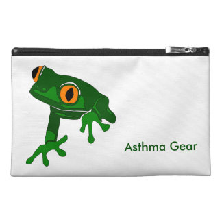 Frog Asthma Emergency Kit Travel Accessory Bags