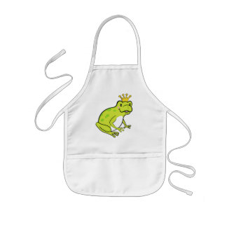 Frog baby apron