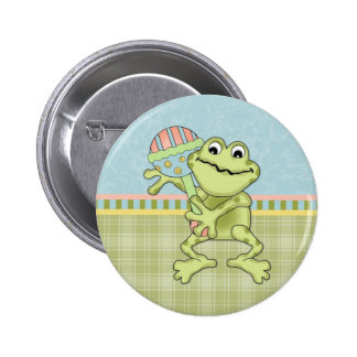 Frog Baby Button