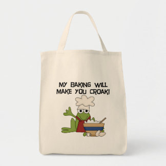 Frog Baker Tshirts and Gifts Tote Bag