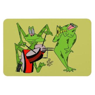 Frog Band magnet