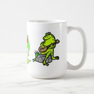 Frog Band Mug