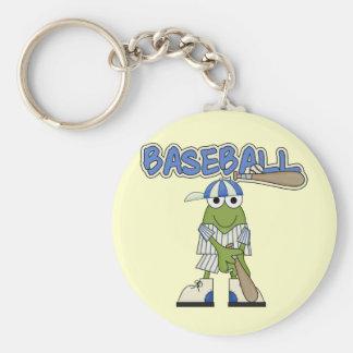 Frog Baseball Batter Up Tshirts and Gifts Keychain
