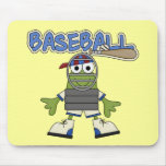 Frog Baseball - Catcher Tshirts and  Gifts Mousepads