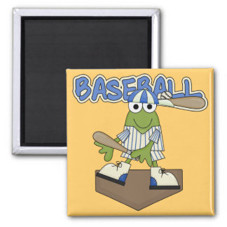 Frog Baseball Home Plate Tshirts and Gifts Magnet