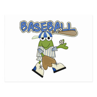 Frog Baseball Pitcher T-shirts and Gifts Postcard