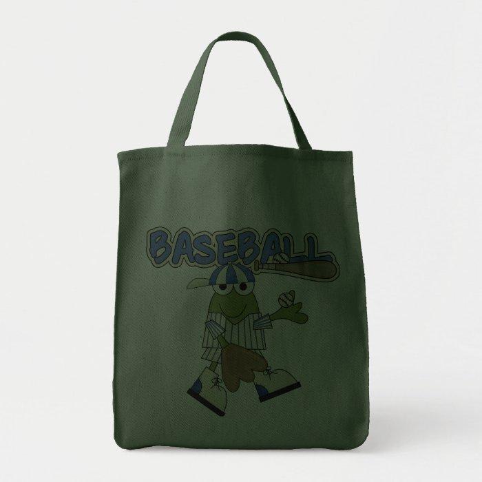 Frog Baseball Pitcher T-shirts and Gifts Tote Bag