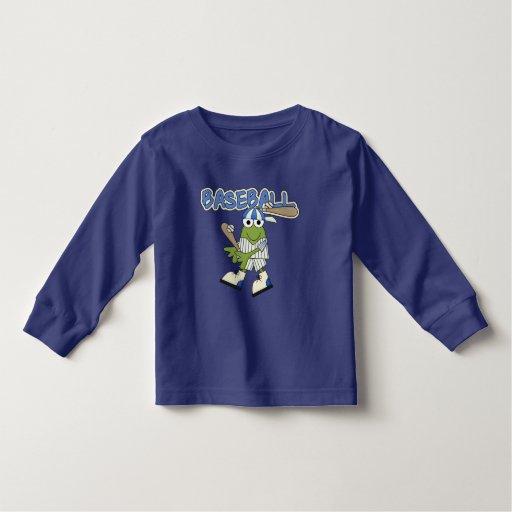 Frog Baseball Up at Bat Tshirts and Gifts