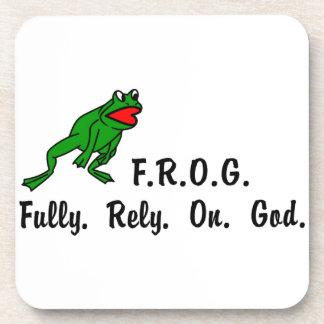 Frog Beverage Coaster