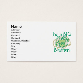 Frog Big Brother Business Card