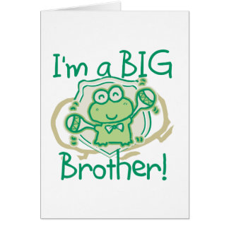 Frog Big Brother Card