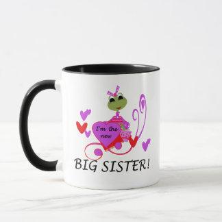Frog Big Sister Tshirts and Gifts Mug