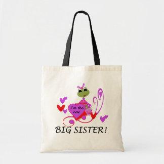 Frog Big Sister Tshirts and Gifts Tote Bag