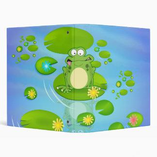 Frog Binder