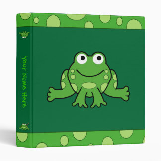 Frog Binder (Customizable)