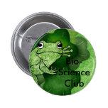 frog, Bio-Science Club Pins