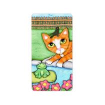 Frog Bird & Cat Sticker / Labels