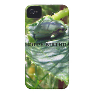 Frog Birthday iPhone 4 Case-Mate Cases
