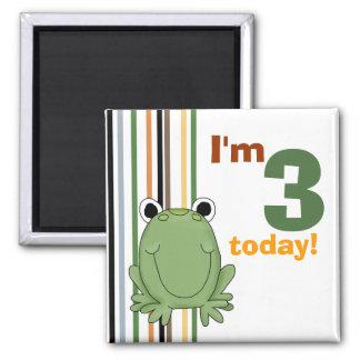 Frog • Birthday Magnet