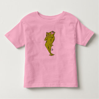 Frog blowing Bugle Tee Shirts