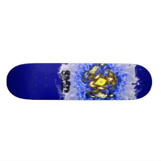 Frog Blue skateboard