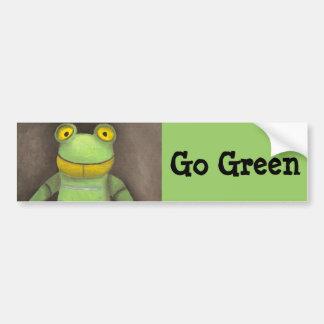 Frog Boy Bumper Stickers