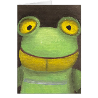 Frog Boy Greeting Cards