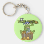 Frog Boy Pirate With Gold Tshirts and Gifts Key Chain