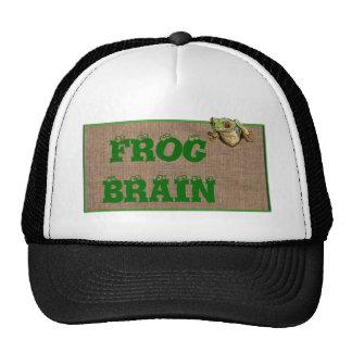FROG BRAIN CAP TRUCKER HAT