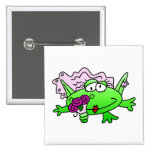 Frog Bride T-shirts and Gifts Button