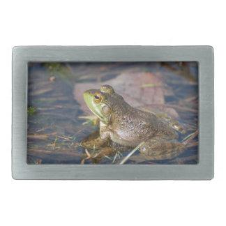 Frog Buckle Rectangular Belt Buckles