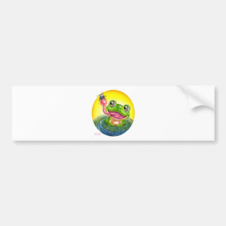 Frog Bumper Stickers