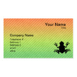 Frog Double-Sided Standard Business Cards (Pack Of 100)