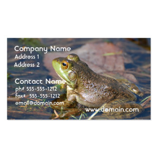 Frog Business Cards