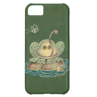 Frog Butterfly Funny iPhone 5C Cover