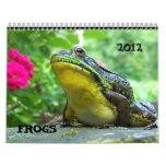 Frog Calendar