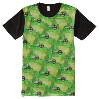 Frog Camouflage All-Over Print T-shirt