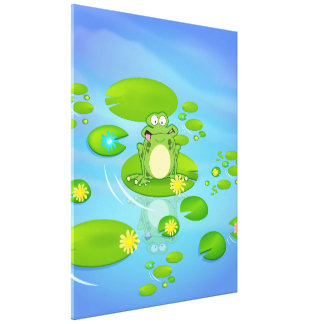 Frog Gallery Wrapped Canvas