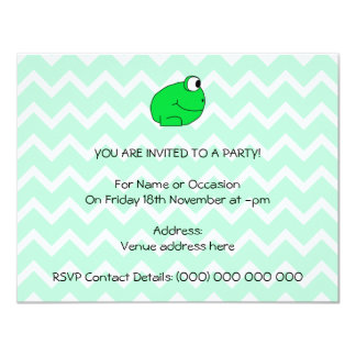 Frog. Card