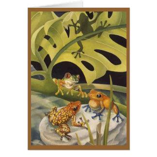 Frog  Card (Blank)
