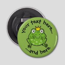 Frog Cartoon Bottle Opener