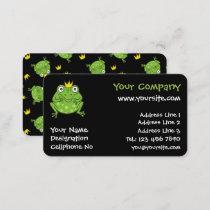 Frog Cartoon Business Card